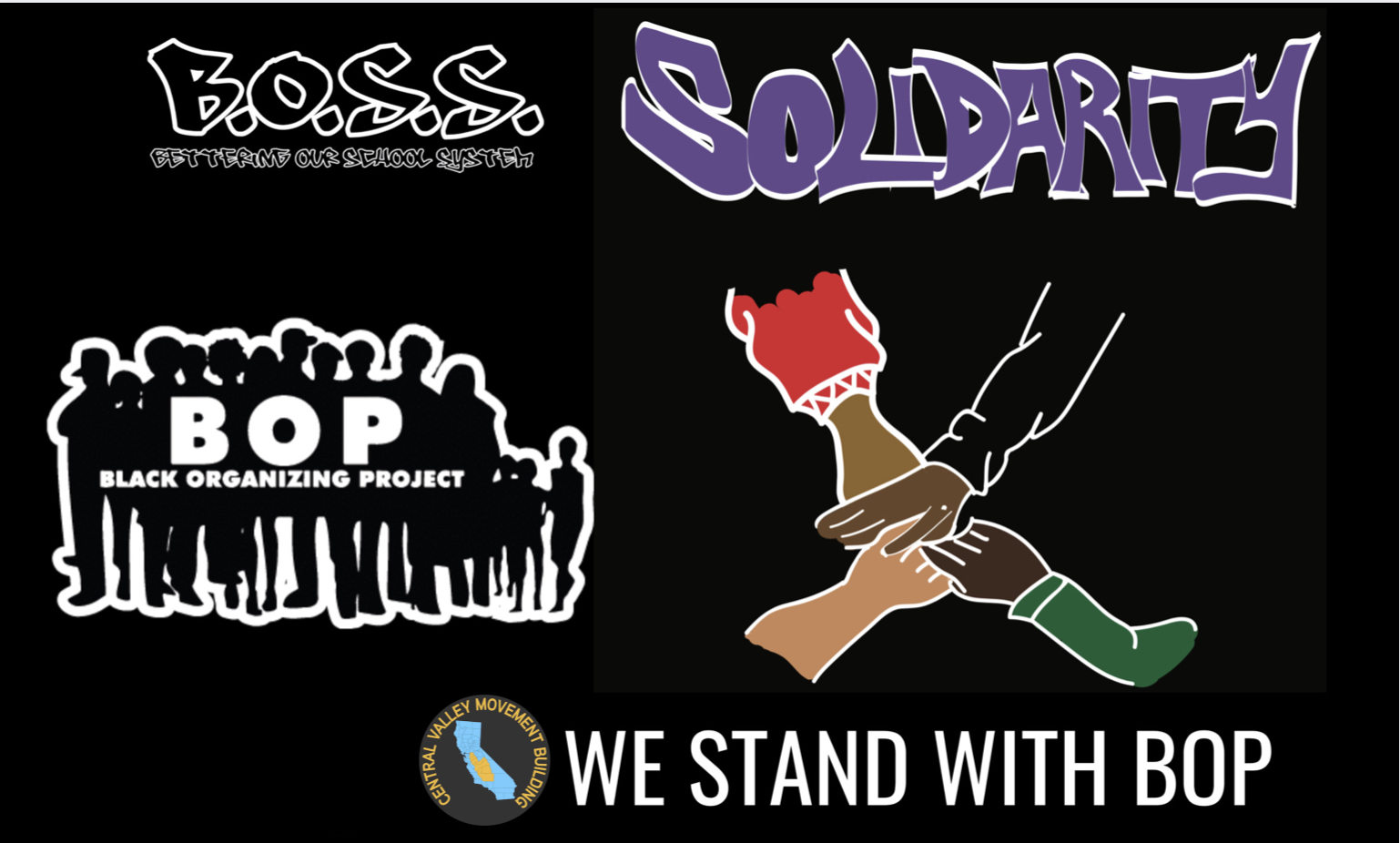 CVMB Supports BOP and the National Week of Action